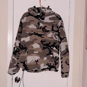 Brandit Camo Pullover Jacket Size M